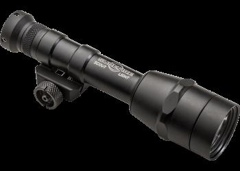 SUREFIRE M600IB SCOUT LIGHT /W INTELLIBEAM 100-600LU BLACK
