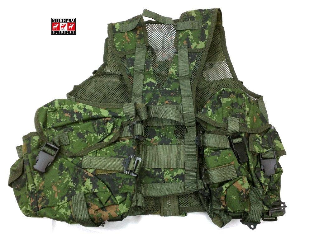 Canadian Style Tactical Vest Cdn Digi Brand New