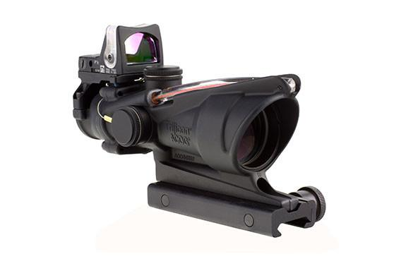 Trijicon Acog 4X32 Dual Illuminated Red Crosshair W/ Rmr