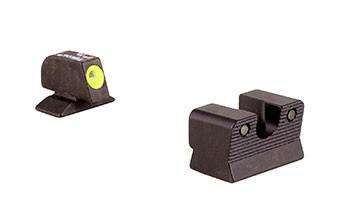 Trijicon Beretta 92A1, 96A1 Hd Night Sight Set - Yellow