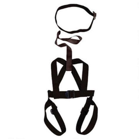 Ameristep Full Body Tree Stand Harness Quick Connect Black