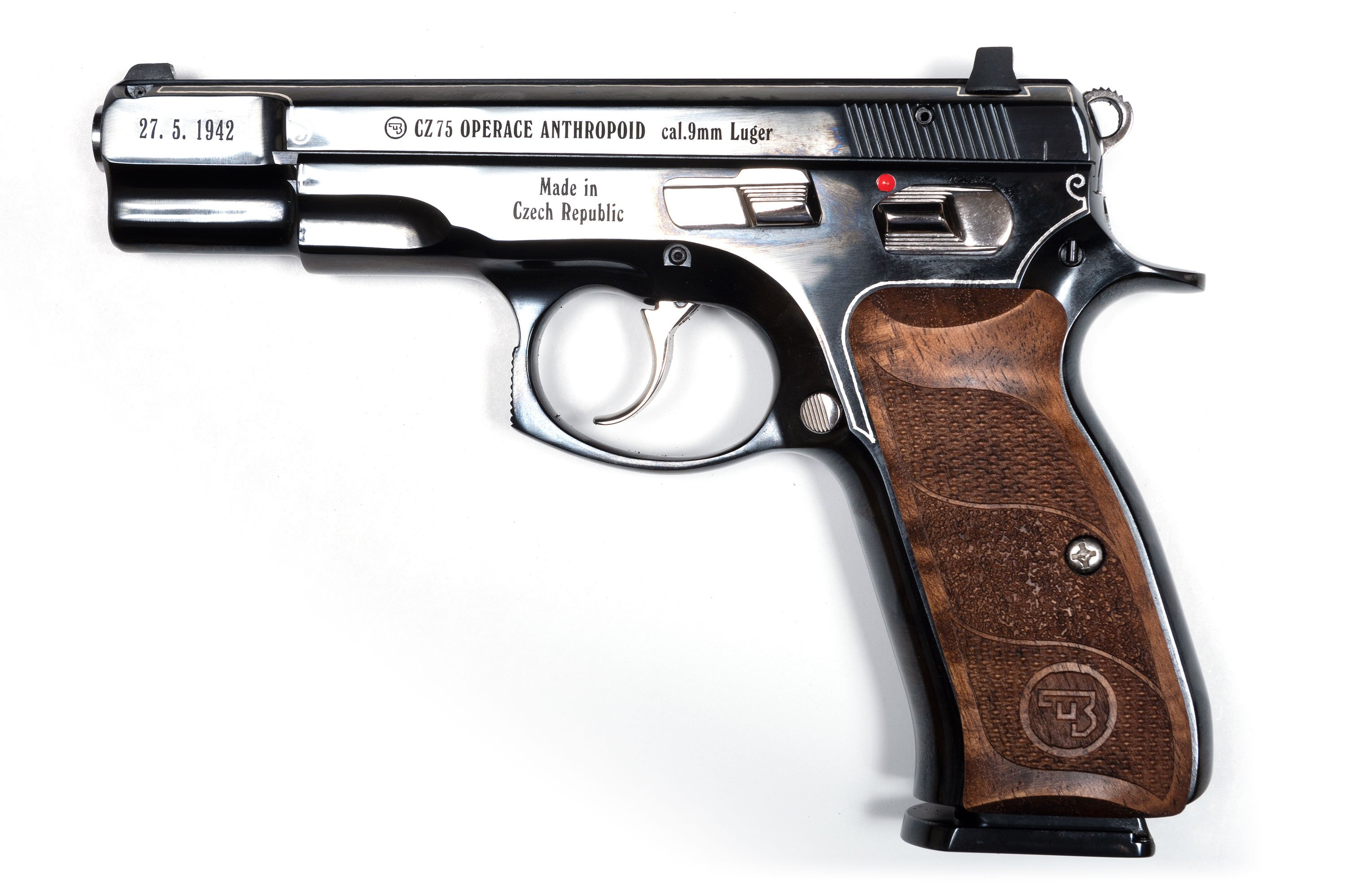 CZ 75 B c.9mm ANTHROPOID 75th Anniversary