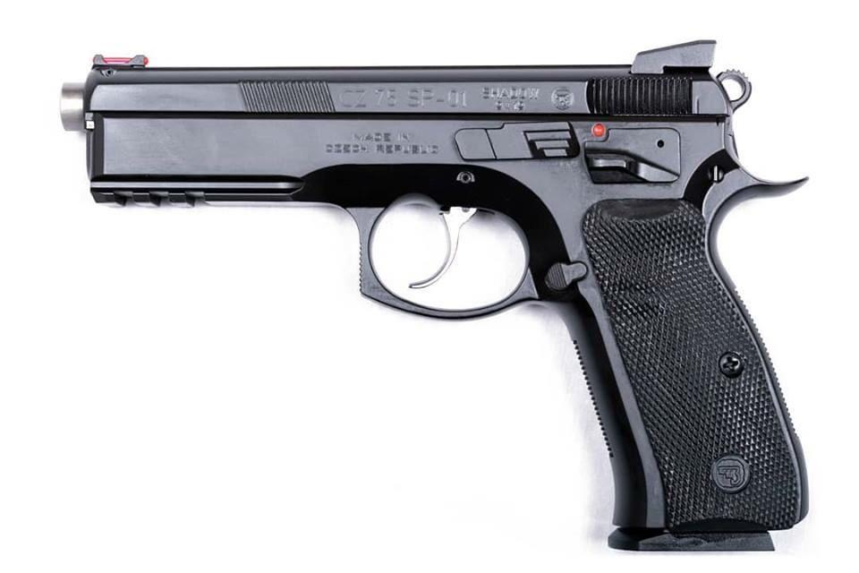 CZ 75 SP-01 SHADOW c.9MM AUSTRALIA 125MM BRL