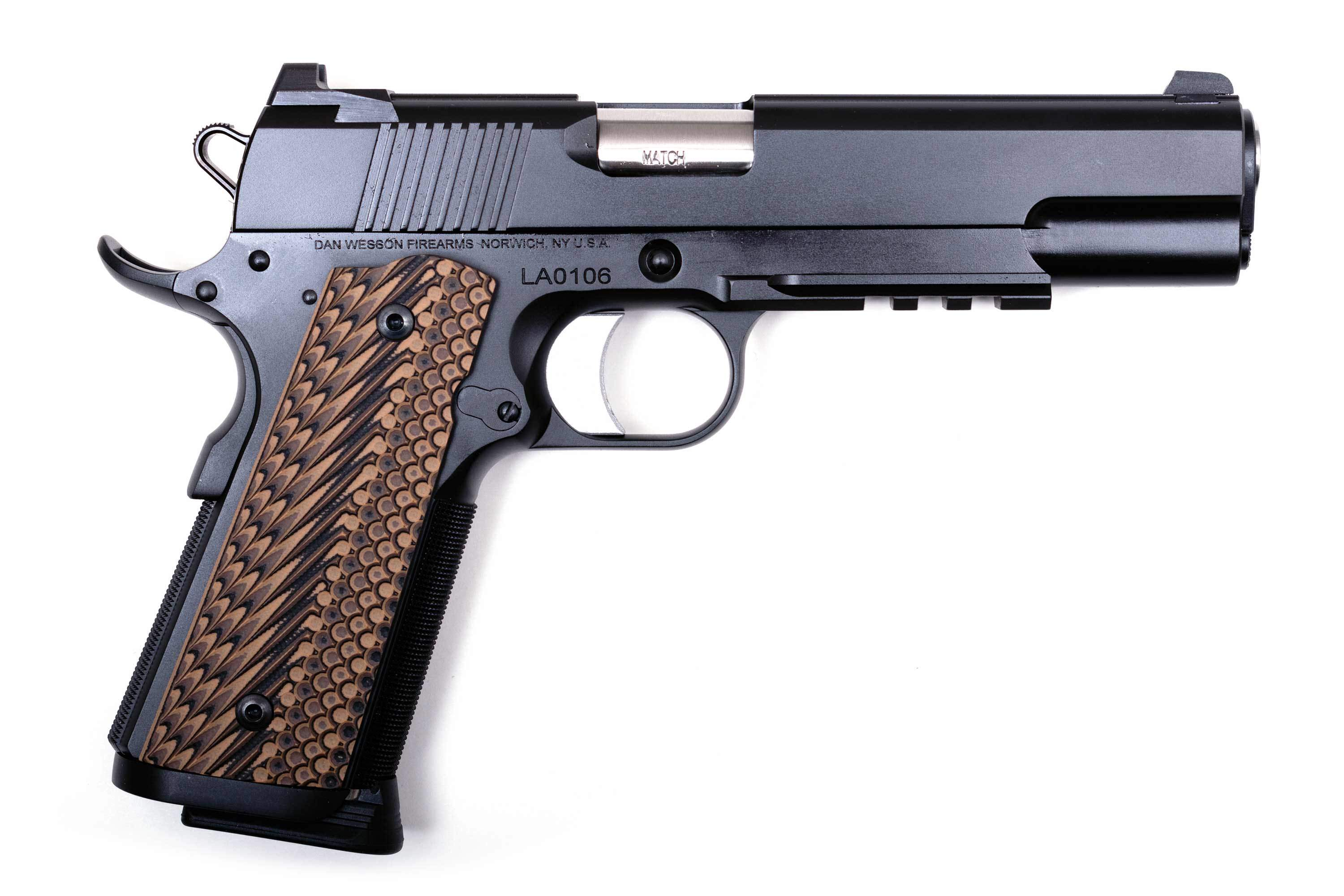 DAN WESSON SPECIALIST c.45 ACP AND 9MM 5