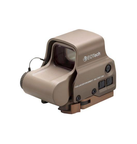 EOTECH EXPS3 68 MOA & 1 MOA RING - NV SINGLE QD LEVER TAN