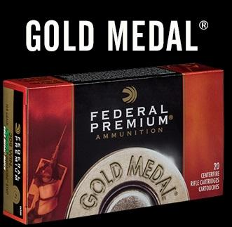 FED 6.5 CREEDMOOR 140GR GOLD MEDAL SMK