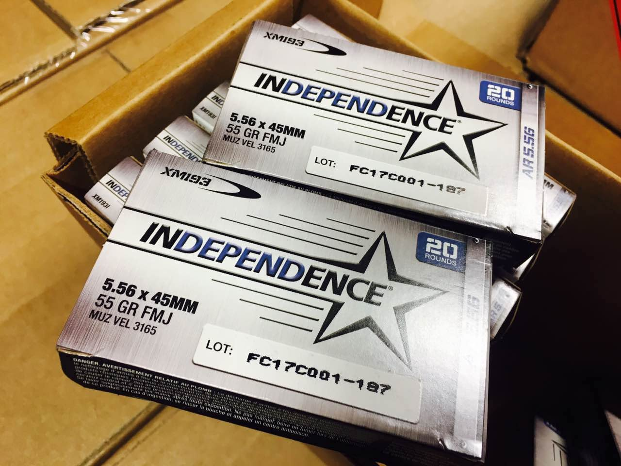 FED XM193 INDEPENDENCE AR 5.56MM NATO 55GR