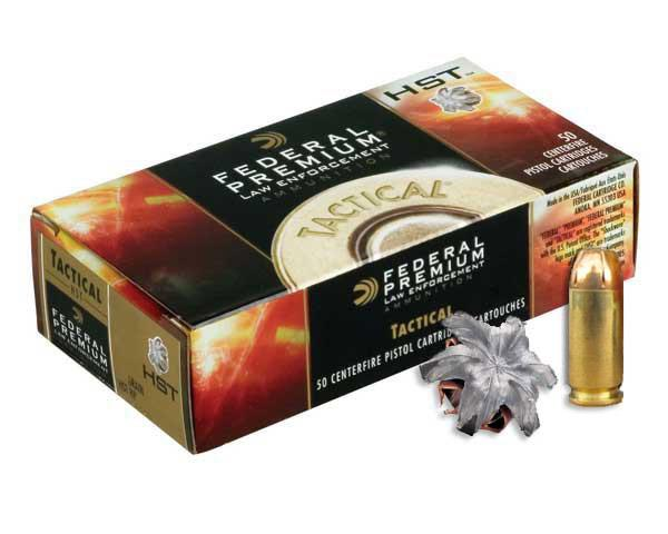 FED. TACTICAL HST .40S&W 180GR HYDRA JHP 50 ROUND BOX