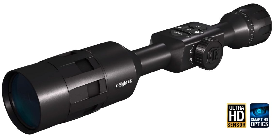 ATN X-SIGHT 4K 5-20X PRO EDITION DAY/NIGHT RIFLE SCOPE