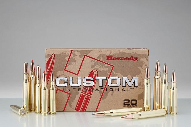 HORNADY AMMO 243 WIN 100GR CUSTOM INTERNATIONAL 80401