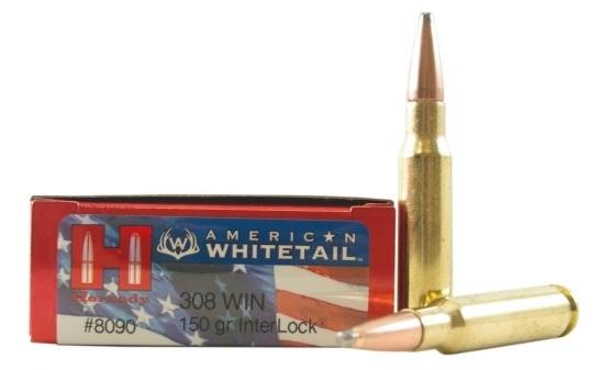 HORNADY AMMO 308 WIN 150GR Interlock SP AW 8090H