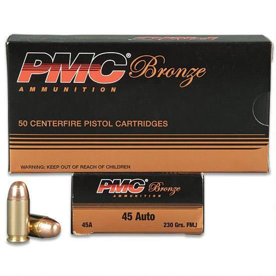 PMC .45 AUTO 230GR FMJ CASE OF 1000RDS