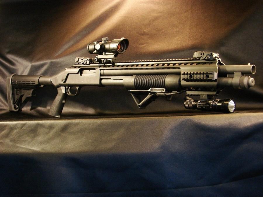 BLACK ACE MOSSBERG 500 590 MAV88 BARREL HEAT SHIELD BAT-MS500