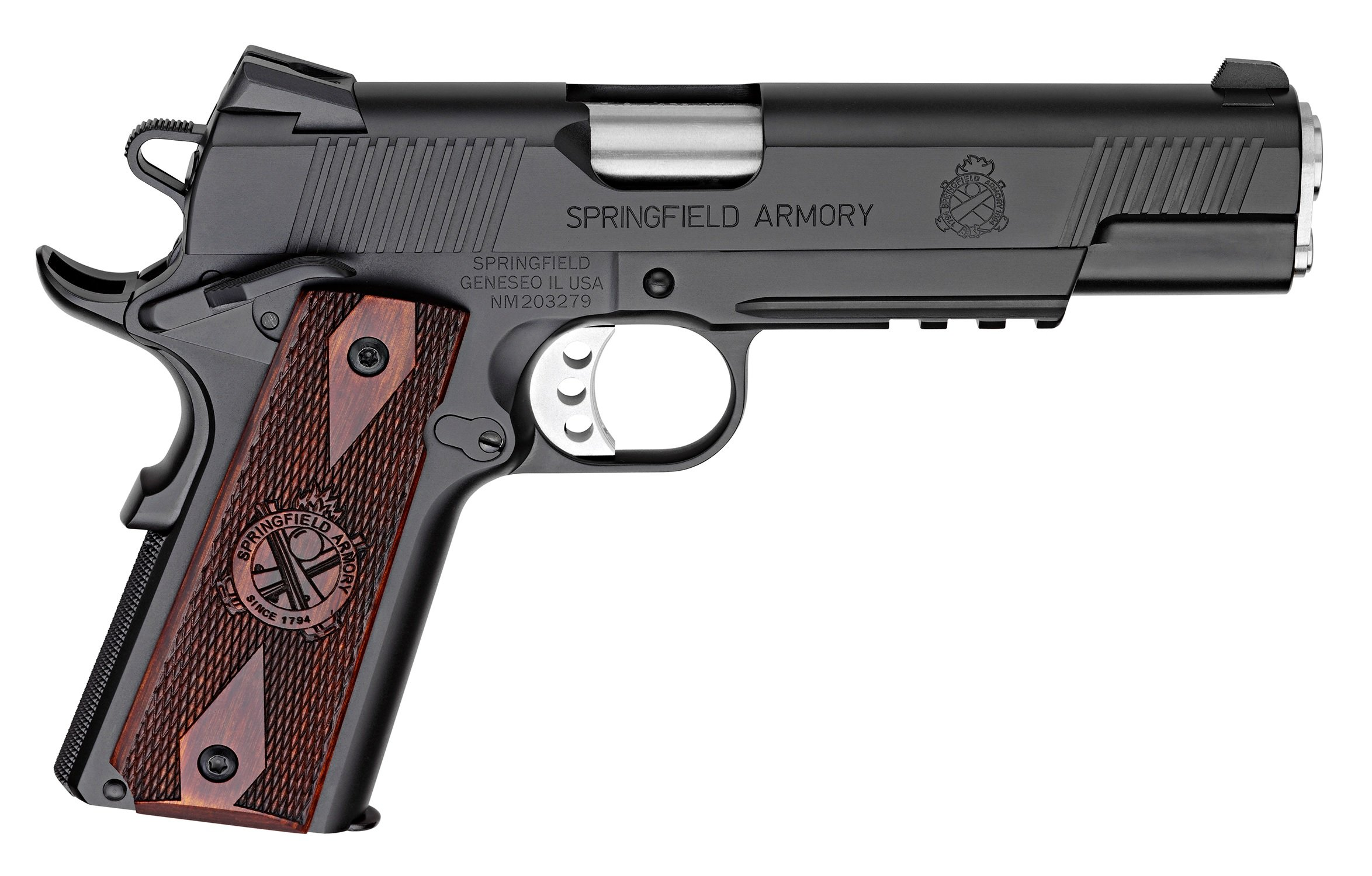 SPRINGFIELD 1911 LOADED .45 ACP 5