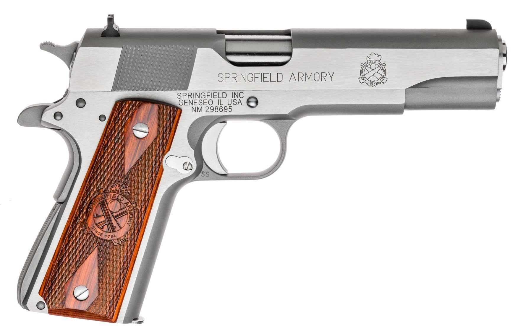 SPRINGFIELD 1911-A1 MIL SPEC .45 STS 5