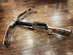 NS COMPOUND CROSSBOW, #150 W/SOLID THUMBHOLE STOCK, CAMO