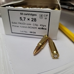Sellier & Bellot - 5.7x28mm FMJ-Zinc 40gr 50rds box