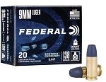 FED SYNTEC 9MM LUGER 138GR SJHP 20 RDS