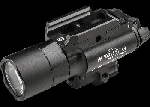SUREFIRE X400 ULTRA RED LASER 500LU WEAPONLIGHT BLACK