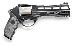 "CHIAPPA CHARGING RHINO 9MM 6"" BLACK/WHITE 340.271"