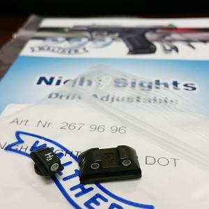 Walther P99 Tritium Night Sights Set