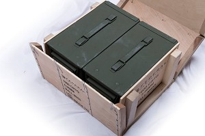 Federal M855  5.56mm  Ammo Green tip