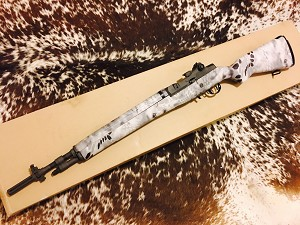 NORINCO M305 SHORT WITH SNOW GHOST STOCK